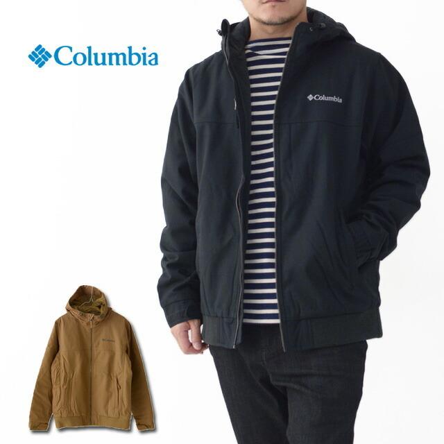 Columbia [コロンビア] Loma Vista Hooded Jacket [WE1074] ロマビスタ フーデッドジャケット・アウトドアジャケット・裏フリース・MEN\'S _f0051306_14185752.jpg