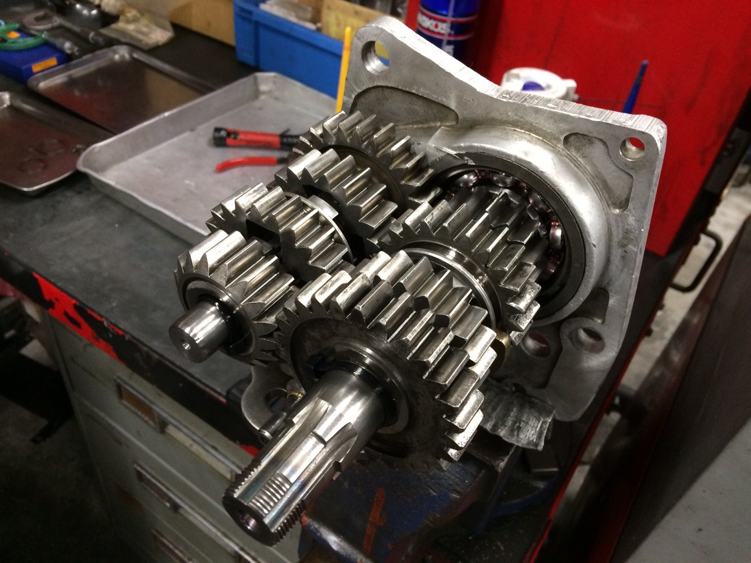 アイアンIronhead エンジン&足回り OH_b0160319_14264840.jpg