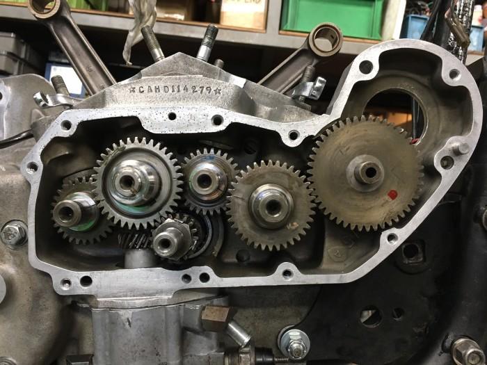 アイアンIronhead エンジン&足回り OH_b0160319_14373595.jpg