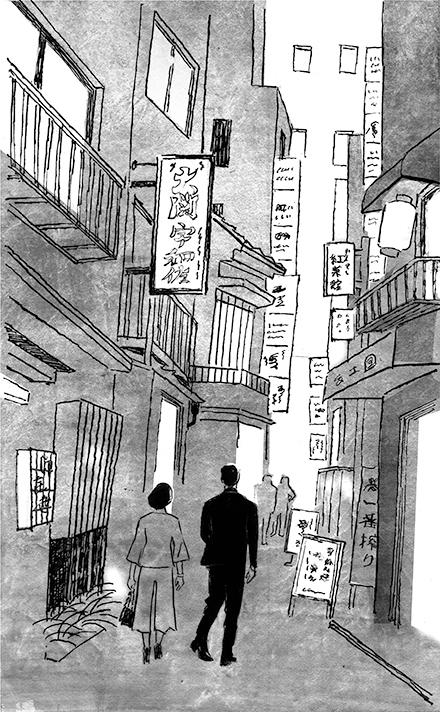 挿絵の仕事 小説推理「今日の花を摘む」第三回 _a0052641_23173449.jpg