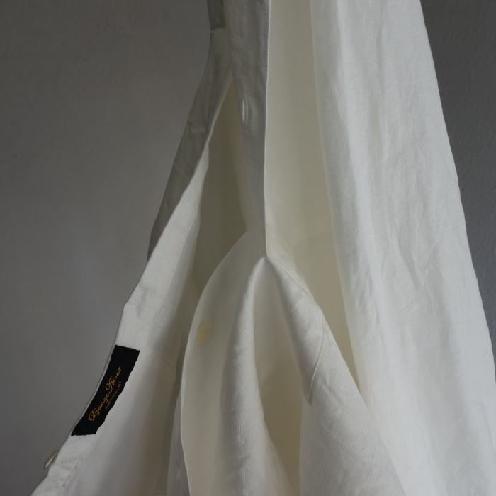 1月の製作 / antiqued irishlinen shirt_e0130546_12105841.jpg