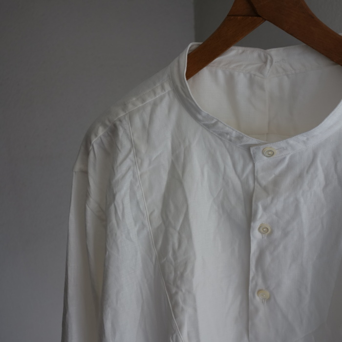 1月の製作 / antiqued irishlinen shirt_e0130546_12123397.jpg