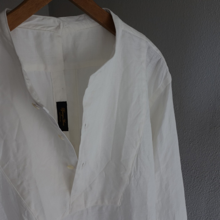 1月の製作 / antiqued irishlinen shirt_e0130546_12133899.jpg