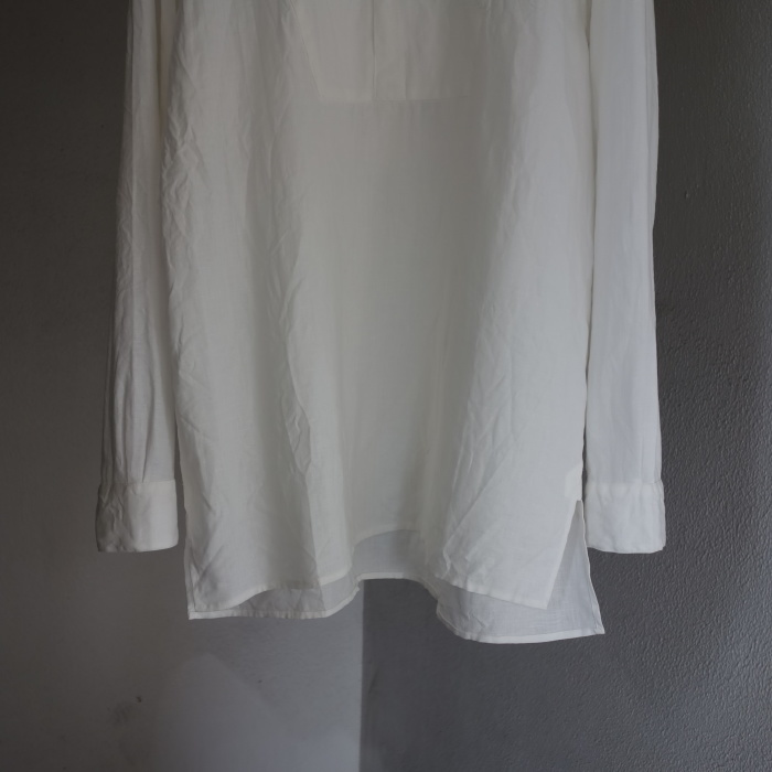 1月の製作 / antiqued irishlinen shirt_e0130546_12142464.jpg