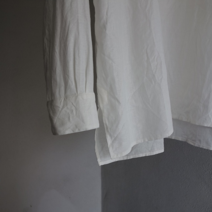 1月の製作 / antiqued irishlinen shirt_e0130546_12145206.jpg