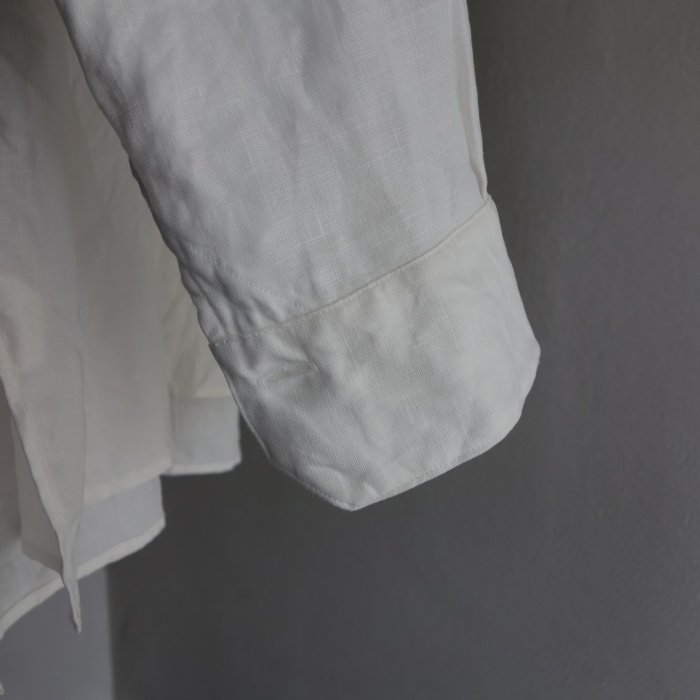 1月の製作 / antiqued irishlinen shirt_e0130546_12152936.jpg