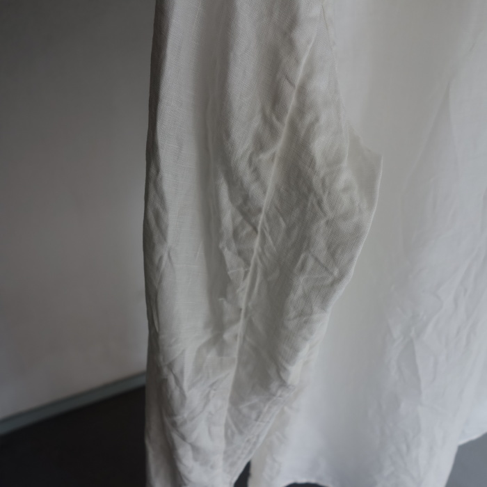 1月の製作 / antiqued irishlinen shirt_e0130546_12174401.jpg
