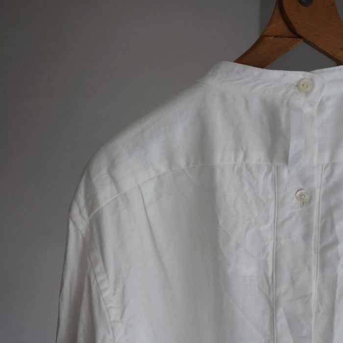 1月の製作 / antiqued irishlinen shirt_e0130546_12184198.jpg