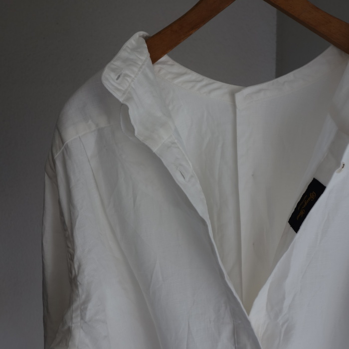 1月の製作 / antiqued irishlinen shirt_e0130546_12190012.jpg