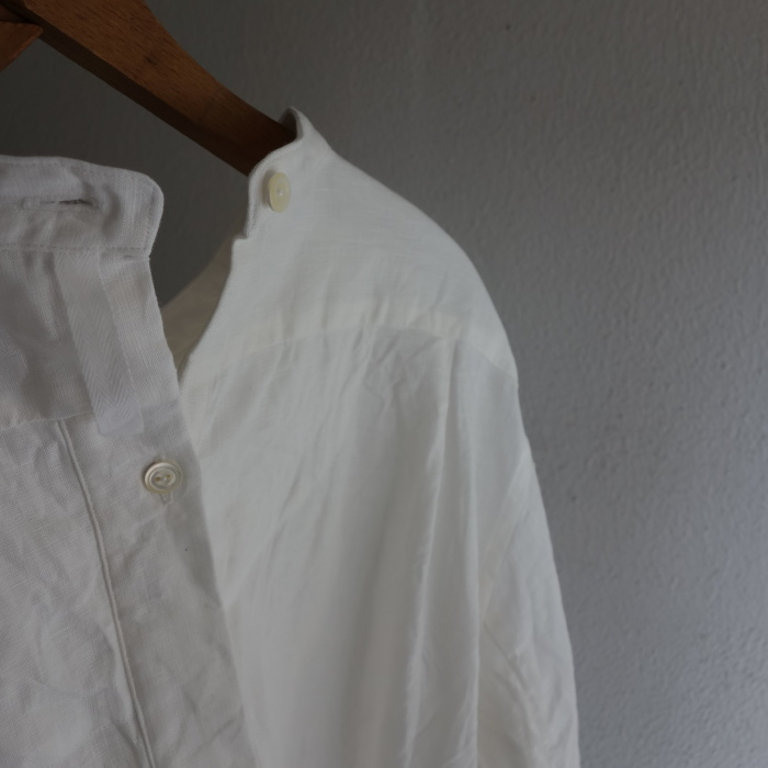 1月の製作 / antiqued irishlinen shirt_e0130546_12192198.jpg