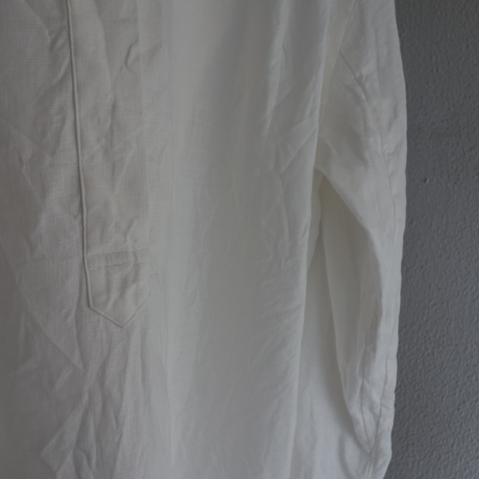 1月の製作 / antiqued irishlinen shirt_e0130546_12195545.jpg