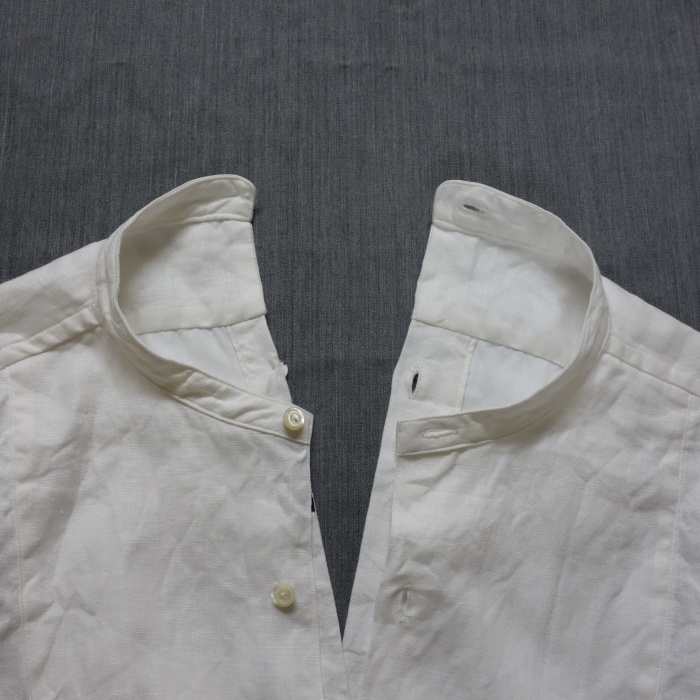 1月の製作 / antiqued irishlinen shirt_e0130546_12223287.jpg