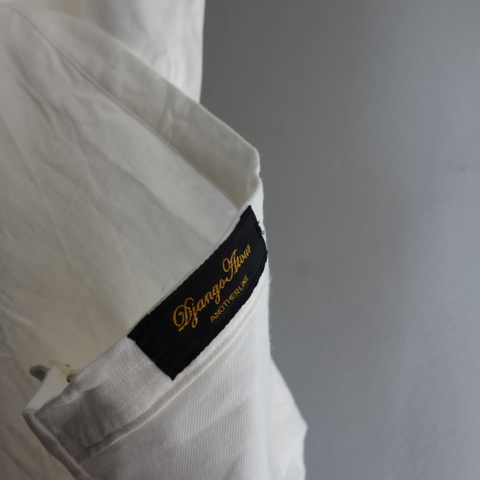 1月の製作 / antiqued irishlinen shirt_e0130546_12230475.jpg