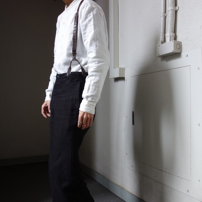 1月の製作 / antiqued irishlinen shirt_e0130546_12583717.jpg