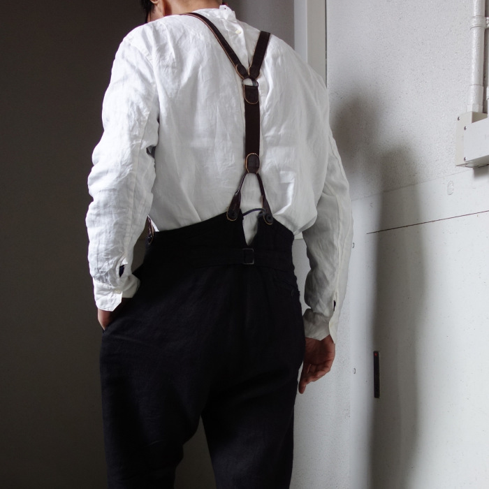 1月の製作 / antiqued irishlinen shirt_e0130546_12585098.jpg