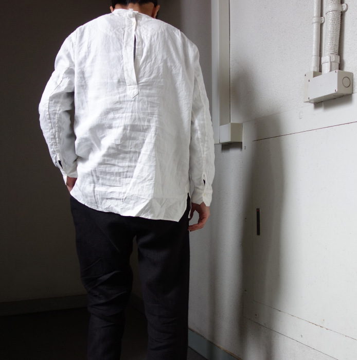 1月の製作 / antiqued irishlinen shirt_e0130546_13005613.jpg