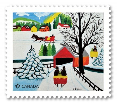 ホリディシーズンの切手_c0353373_16370395.jpg