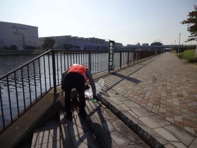 「港の緑を大切に」中川口緑地 環境美化運動の様子R2.10.29_d0338682_23274277.jpg