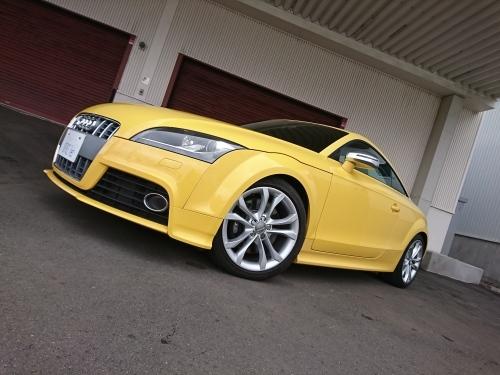希少車輛入りました!! VOLVO polestar Audi TTSイモライエロー_c0219786_17593190.jpg