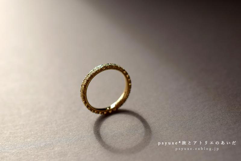 おふたつめの《Giorni》Ring / K18YG*神奈川県 K 様_e0131432_16284008.jpg