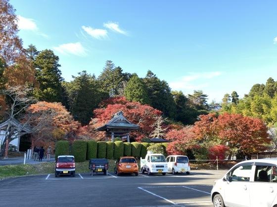 紅葉前線南下中 福島県宝蔵寺_c0261447_10421781.jpg