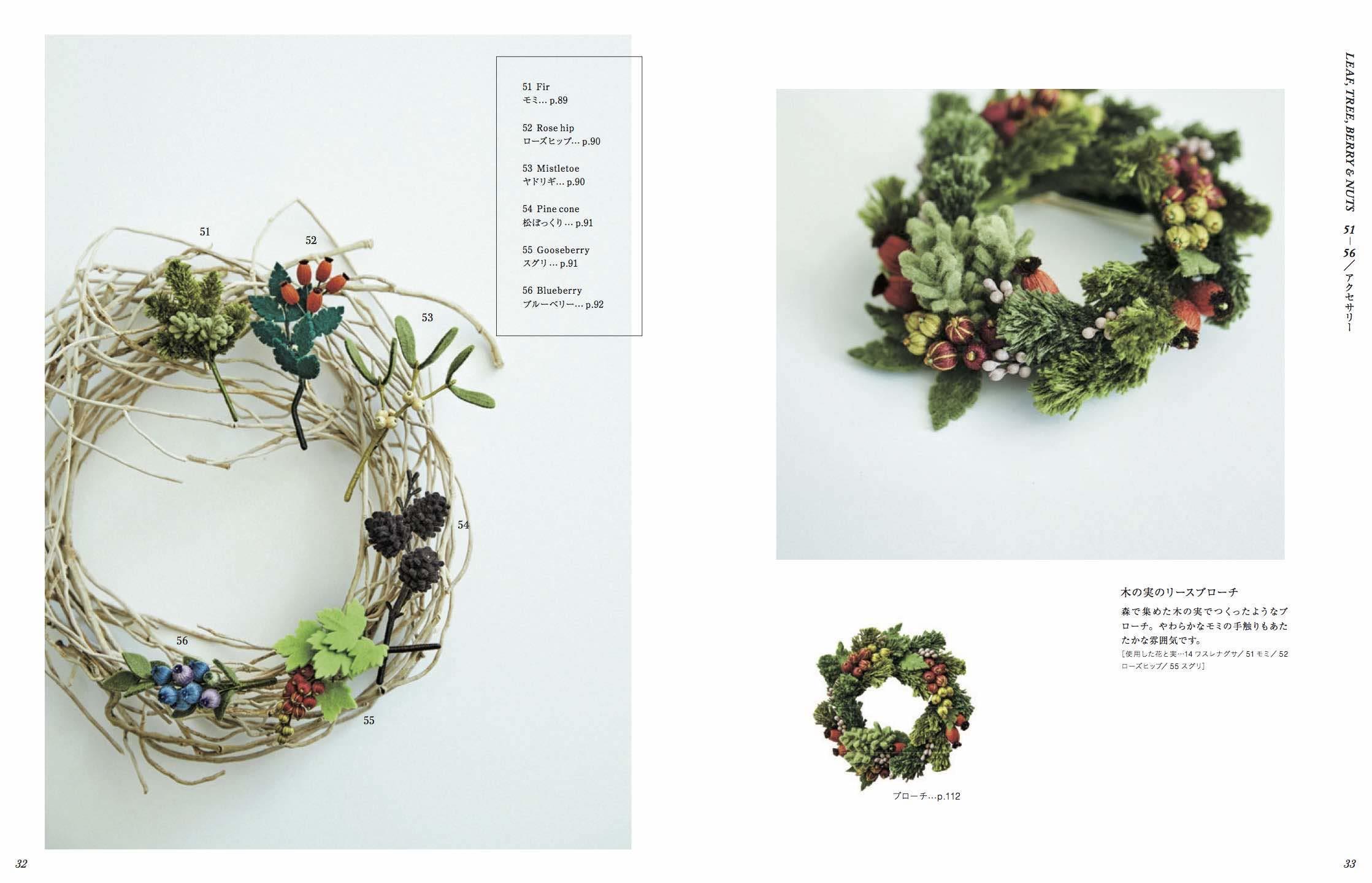 木の実たち「いちばんちいさなフェルトの花アクセサリー」_e0333647_16392367.jpg