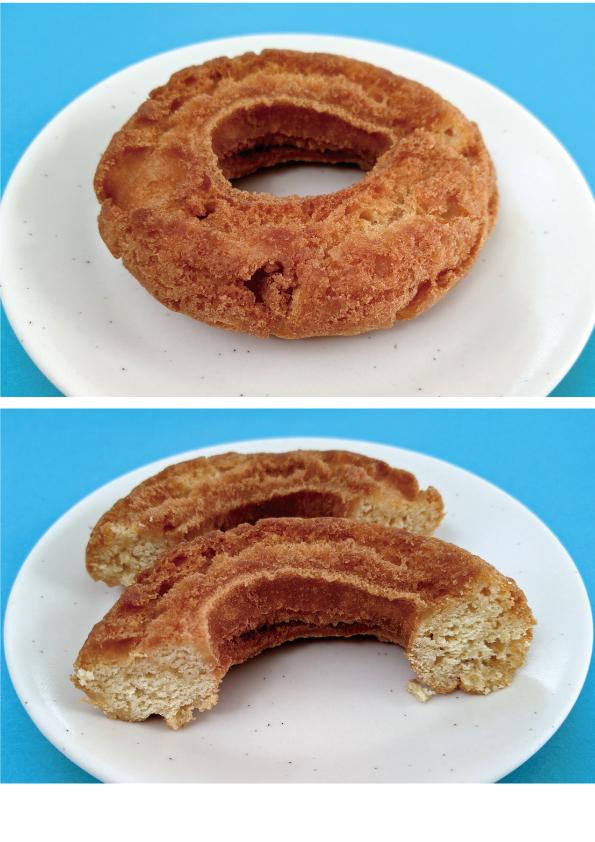 【袋ドーナツ】山崎製パン「低糖質オールドファッションドーナツ」【わりといい】_d0272182_16070521.jpg