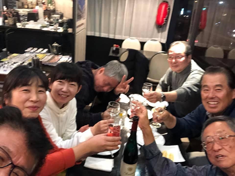 晩酌仲間が、四国大会を応援してくれる徳ちゃんの店「羅漢」に集結。_c0186691_12522989.jpg