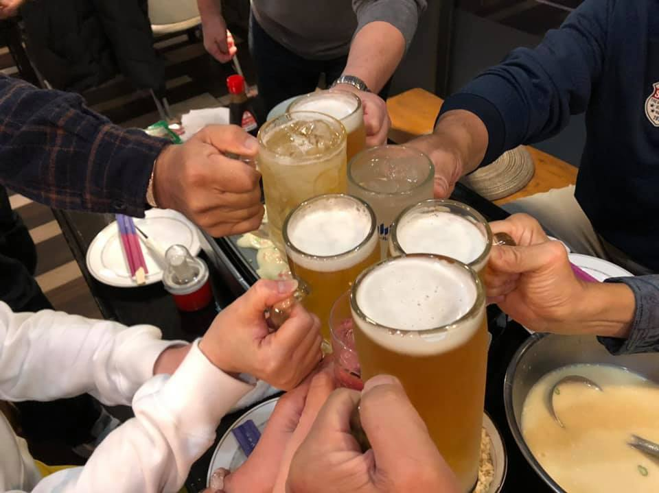 晩酌仲間が、四国大会を応援してくれる徳ちゃんの店「羅漢」に集結。_c0186691_12570033.jpg
