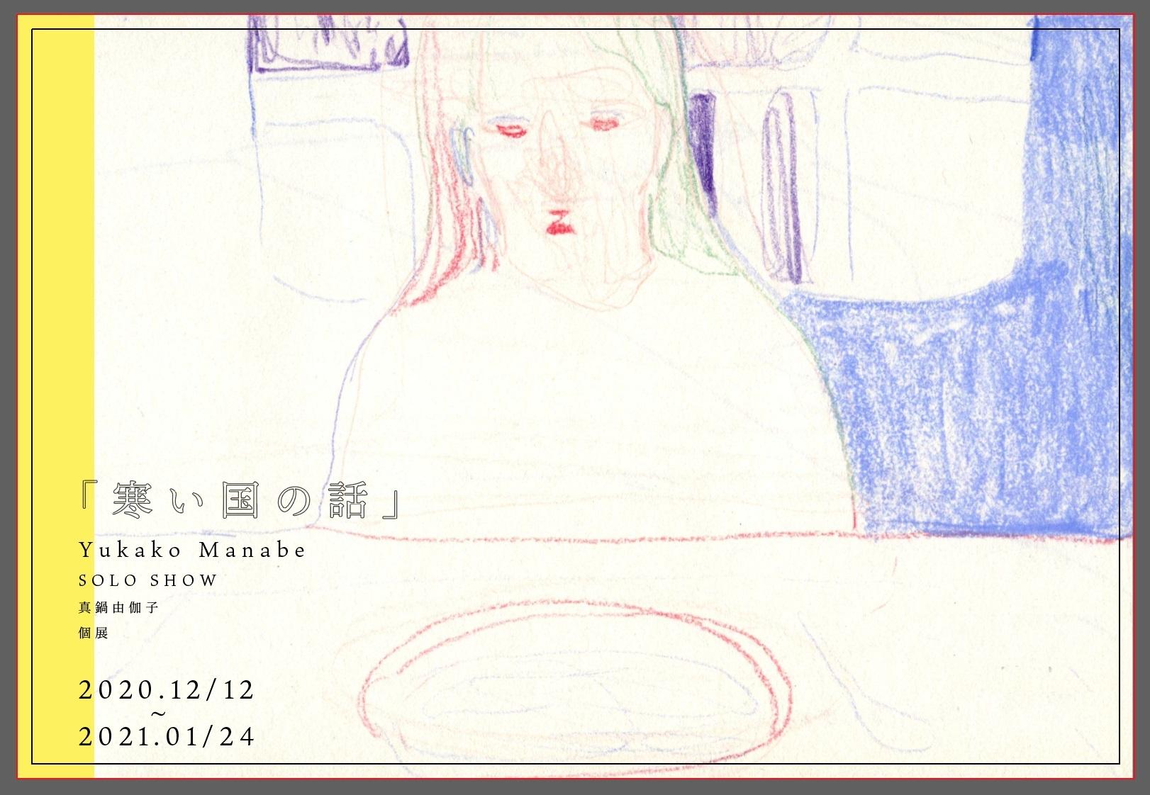 「寒い国の話」 Yukako Manabe  SOLO SHOW_a0260022_19013282.jpg