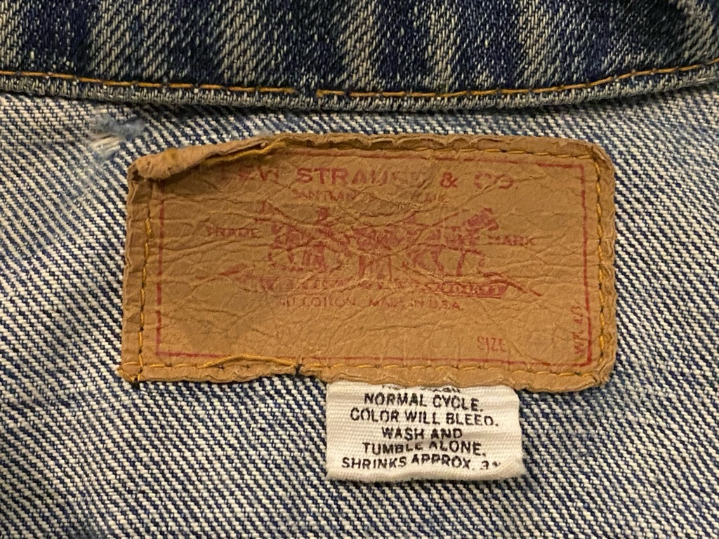 マグネッツ神戸店 12/2(水)Vintage入荷! #3 Denim Jacket!!!_c0078587_12485684.jpg