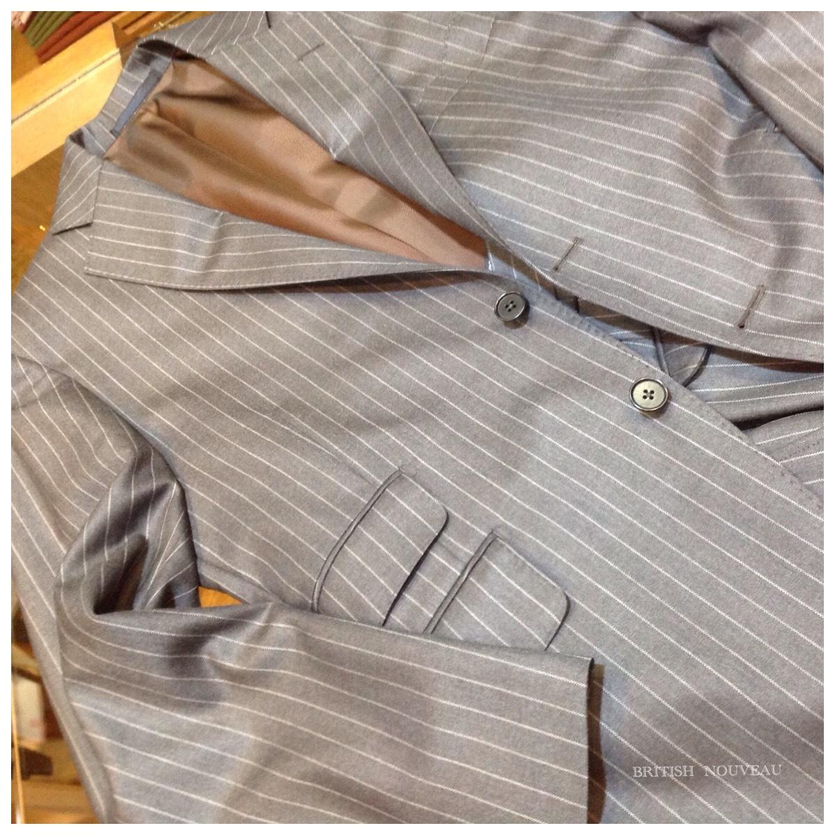 Custom  Order  Suit  仕上り納品 ヽ(´o`;_f0039487_11250122.jpg