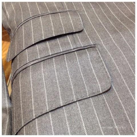 Custom  Order  Suit  仕上り納品 ヽ(´o`;_f0039487_11260550.jpg