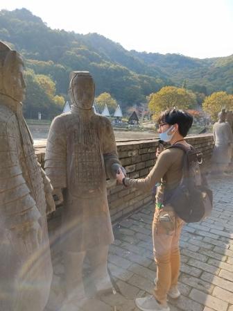 Go to弾丸ツアー:④平和公園vol.2~ 兵馬俑からのパビリオンじゃない寺~_d0137326_15432418.jpg