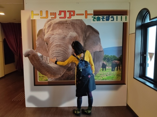 Go to弾丸ツアー:⑤平和公園vol.3~ トリックアート城~_d0137326_19384200.jpg