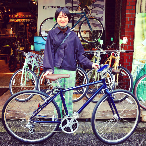 リピトの「本日のバイシクルガール」ライトウェイ特集☆自転車女子 自転車ガール 自転車ボーイ クロスバイク ライトウェイ おしゃれ自転車 マリン ターン シェファード パスチャー スタイルス_b0212032_17271632.jpeg