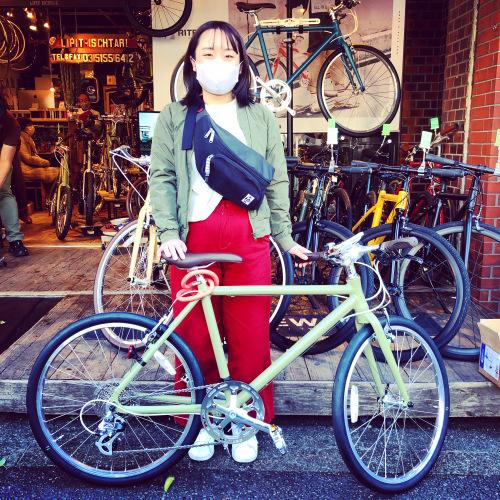リピトの「本日のバイシクルガール」ライトウェイ特集☆自転車女子 自転車ガール 自転車ボーイ クロスバイク ライトウェイ おしゃれ自転車 マリン ターン シェファード パスチャー スタイルス_b0212032_17283087.jpeg
