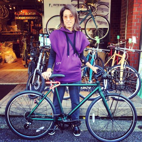 リピトの「本日のバイシクルガール」ライトウェイ特集☆自転車女子 自転車ガール 自転車ボーイ クロスバイク ライトウェイ おしゃれ自転車 マリン ターン シェファード パスチャー スタイルス_b0212032_17303882.jpeg
