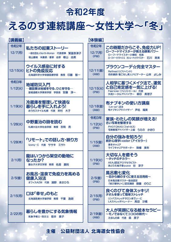 【終了】1/15(金)女性大学 自分の強みを知ろう!10:00~11:30_b0396744_20531281.jpg