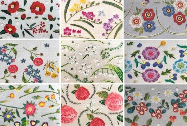 素敵な刺繍の手帳とカレンダー♪ と お弁当_d0249193_11112273.jpg