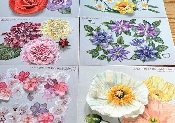 素敵な刺繍の手帳とカレンダー♪ と お弁当_d0249193_12202813.jpg