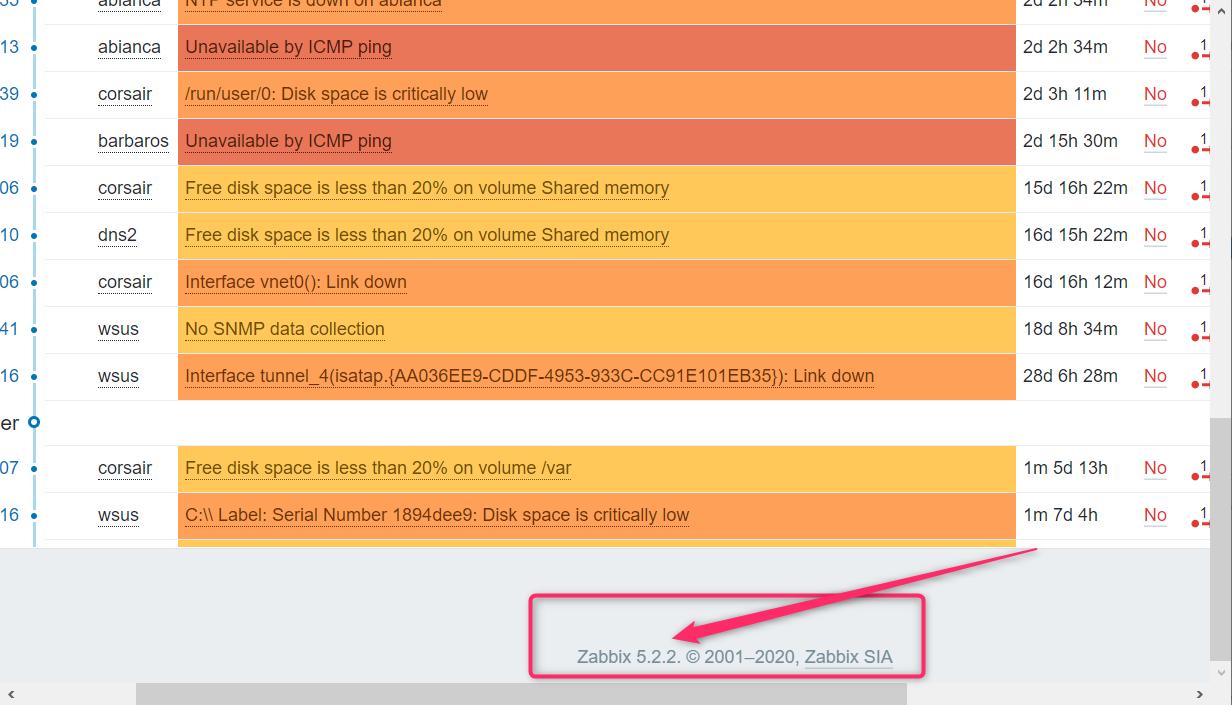 openSUSE 15: zabbix5.0 から 5.2 へのアップデート_a0056607_11245526.png