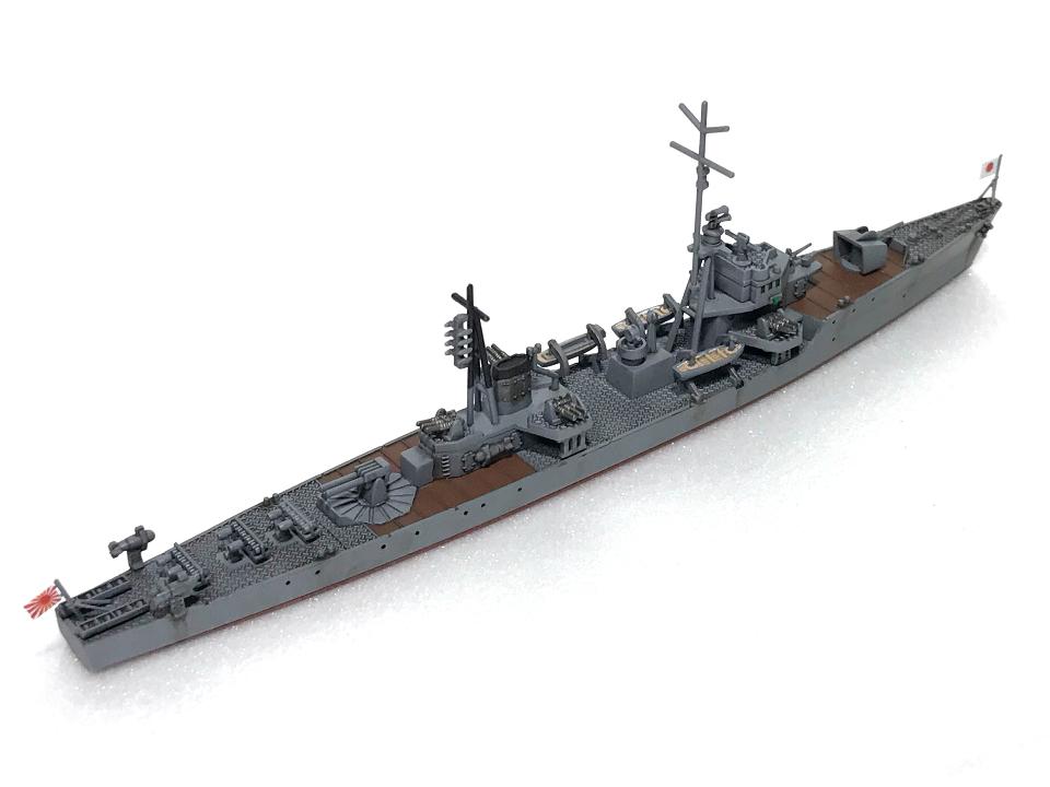 ピットロード 1/700 海防艦「日振」(完成)_b0055614_23460662.jpg