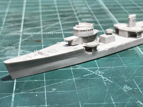 ピットロード 1/700 海防艦「日振」(完成)_b0055614_23462183.jpg