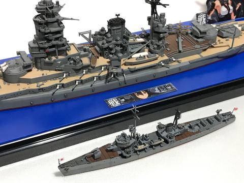 ピットロード 1/700 海防艦「日振」(完成)_b0055614_23463395.jpg