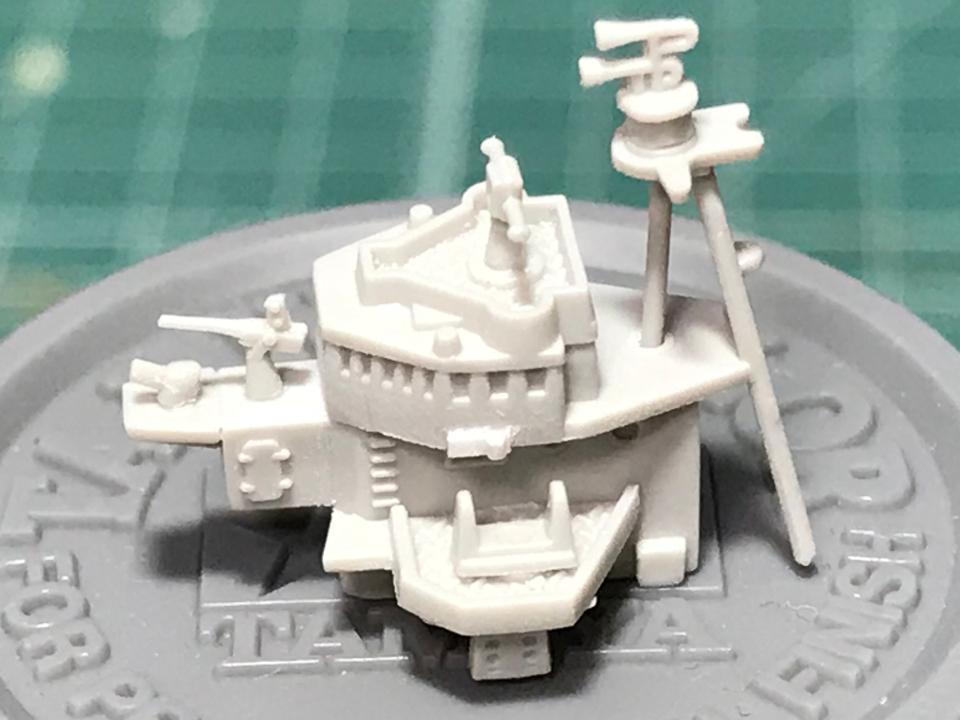 ピットロード 1/700 海防艦「日振」(完成)_b0055614_23501127.jpg