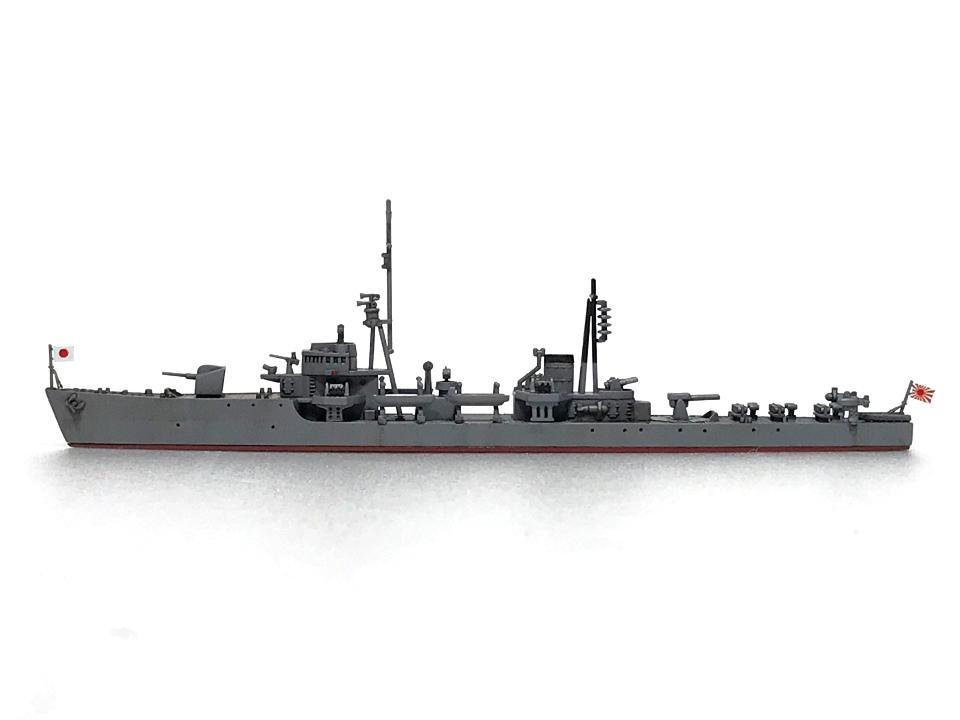 ピットロード 1/700 海防艦「日振」(完成)_b0055614_23531618.jpg