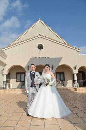長男香輔とお嫁さんの嘉代さんの結婚式でした!_e0248949_23134728.jpg