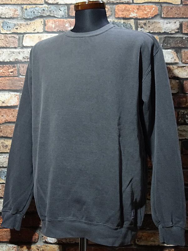 kustomstyle クルーネック スウェットトレーナー praise the lowered crewneck garment dye 後染め 10,780円(内税) 入荷_c0094761_12003193.jpg