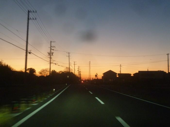 夕焼け!_b0095981_08162989.jpg